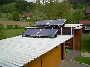 solaranlagen kundenfotos flachdach solar pacde With französischer balkon mit garten solaranlagen