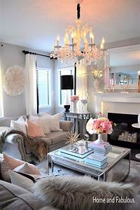 living room themes This mirrored table from Home Goods is just the right ...