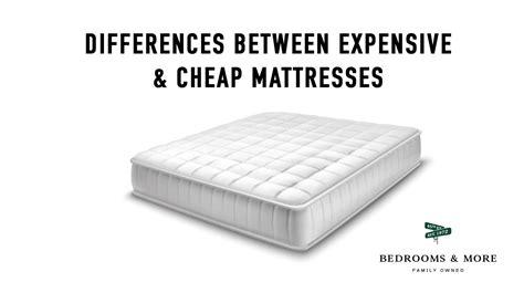Mattress Cost by Difference Between Expensive Mattresses Cheap Mattresses