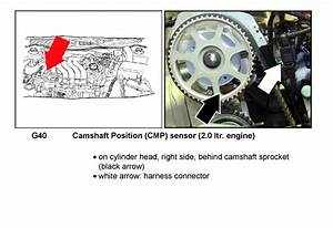 Where Is The Camshaft Sensor Located On A 2002 Vw Jetta 2