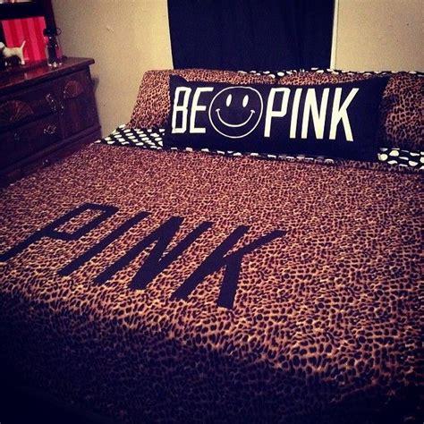 cute leopard vspink bed 176 victoria s secret