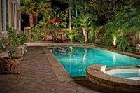 pools for small backyards Beautiful Landscaping Small Backyards With Pools - Home ...