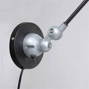 Lampe Murale Industrielle : lampe murale industrielle noire jip ~ Teatrodelosmanantiales.com Idées de Décoration
