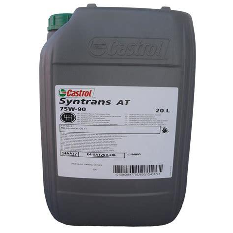 mercedes motoröl freigabe castrol getriebe 246 l syntrans at 75w90 20 liter gl 4 mb freigabe 235 11 ebay