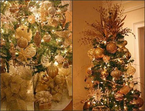 the elegant chateau gold christmas