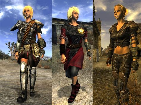 Type3 Body And Armor Replacer для Fallout New Vegas