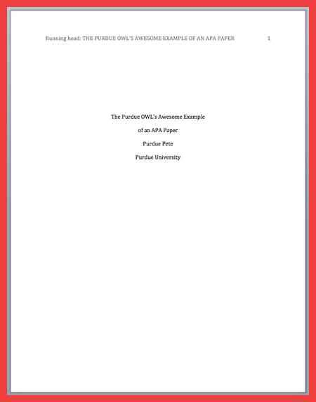 apa title page template lab report title page format free elsevier social sciences