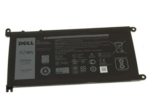 Dell Original Inspiron 15 5568 13 5368 5378 Battery WDX0R