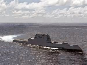 US Navy Destroyer USS Zumwalt