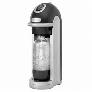 Sodastream Fizz Home Soda Maker Starter Kit Black