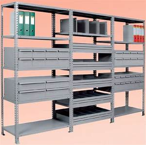 Cassettiera metallica 12 cassetti per Scaffali mm 1000x400xh300 [CRAB12400F] 309 00EUR
