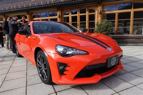The 2017 Toyota 86 860 Special Edition Adds A Head-turning