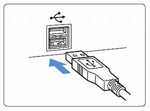 my computer does not detect the camera connected through usb With wiring usb port