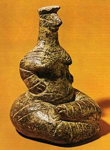 "The famous neolithic statuette from Kato Ierapetra (""Holy ..."