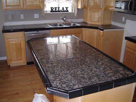 tile counter ideas  kitchens  baths