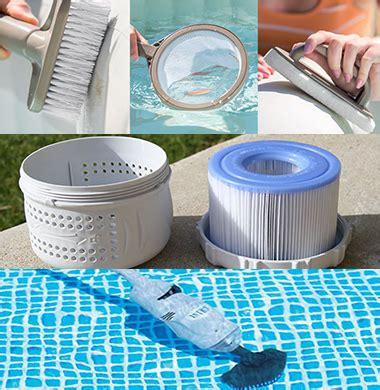 entretien spa intex tous les accessoires spas gonflables intex indispensables sont ici