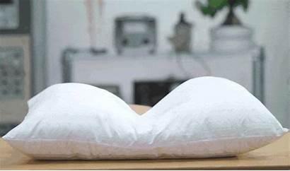 Pillow Head Bed Purple Night Side Neck