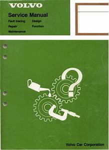 Volvo 700 Ignition Systems Service Manual
