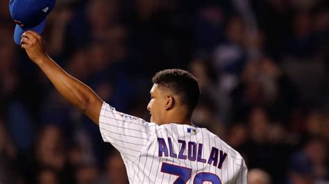 Adbert Alzolay Pitches Chicago Cubs Over New York Mets In