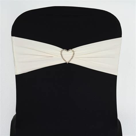 spandex chair sashes bows ties wedding reception
