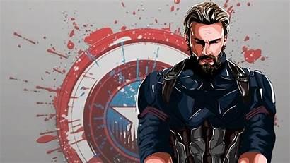 Captain 4k America Wallpapers Digital Superheroes Artwork