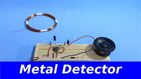 how to make a simple metal detector 123vid