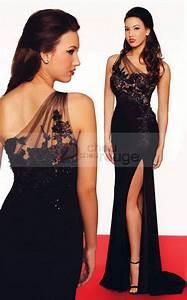 robe de soiree longue fendue asymetrique pas cher robe With robe de soiree longue pas cher livraison rapide