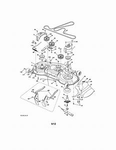 Mower Deck Diagram  U0026 Parts List For Model 917289720