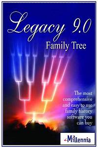 Free Genealogy Family Tree Charts Legacy Family Tree 9 Deluxe S N Genealogy Supplies