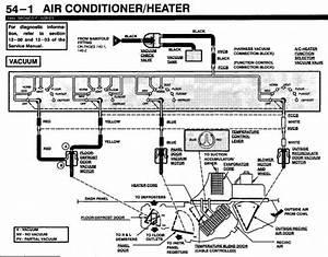 1996 F350 Heater   A  C Vacuum Lines
