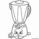 Shopkins Blender Coloring Season Printable Brenda Clipart Homewares Shopkin Hopkins Colouring Printables Cartoon Ice Sheets Drawings раскраски Webstockreview Minions Cream sketch template