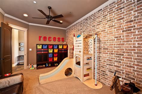 vivacious kids rooms  brick walls full  personality