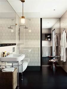 salle de bains moderne avec sol noir salles de bain With salle de bain avec sol noir