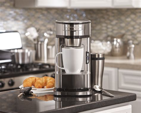 Different types of single serve coffee makers Hamilton Beach Single Serve Scoop Coffee Maker (49981A) Review - HomeInDec