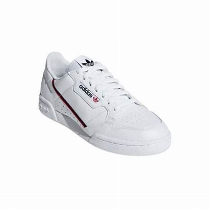 Adidas Continental Uomo Sneakers Chaussures Bianco Rosso