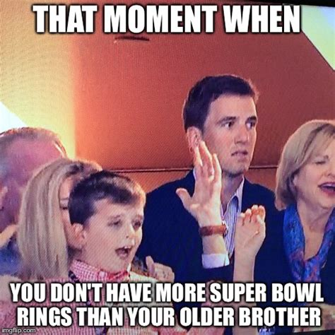 Peyton Manning Super Bowl Memes - image tagged in eli manning peyton manning super bowl giants denver broncos imgflip