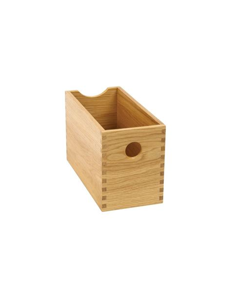 wooden kitchen storage boxes oak finger joint storage boxes set four drawer 1644