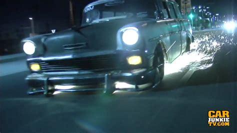 chevy bel air wagon spark show  san fernando