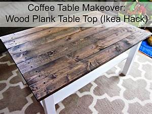 making a wood plank table top quick woodworking projects With wood plank top coffee table