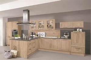 Plan De Travail Chene Blanchi : cottage d cor ch ne de virginie envia cuisines ~ Premium-room.com Idées de Décoration
