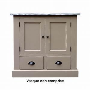 Meuble Bois Salle De Bain : meuble salle de bain bois leroy merlin meubles salle de ~ Dailycaller-alerts.com Idées de Décoration