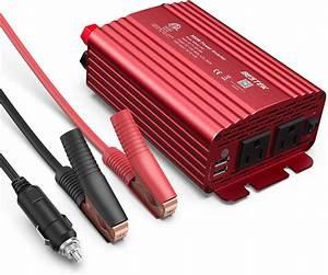 Bestek 500w Power Inverter Dc 12v To 110v Ac Converter