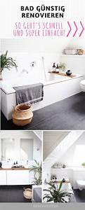 Kleines Bad Renovieren Ideen : badezimmer selbst renovieren design dots blog und zuhause ~ Frokenaadalensverden.com Haus und Dekorationen