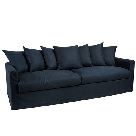3 5 Seater Sofa by Navy Blue Sofa 3 5 Seater Humble Home
