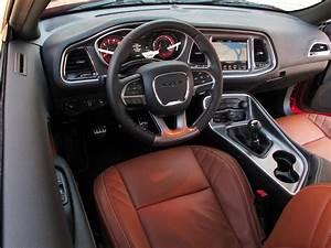 Dodge challenger hellcat interior pics