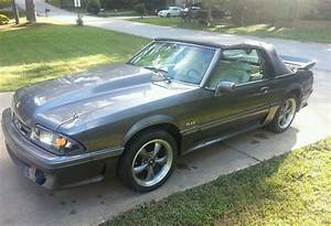 1990 Mustang Foxbody GT 5.0 convertible - Classic Ford Mustang 1990 for sale