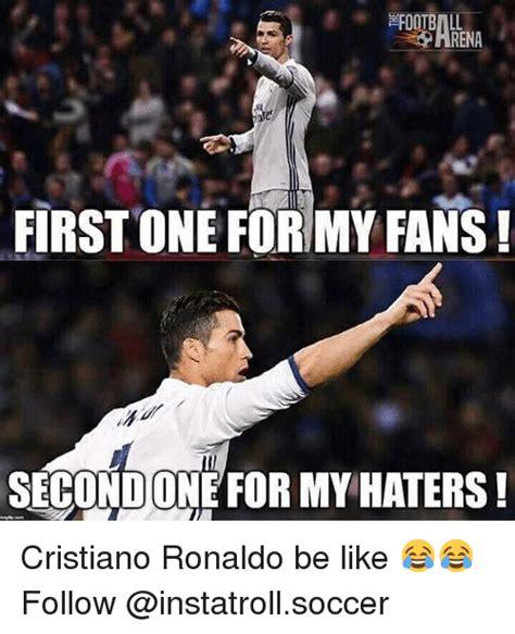 Cristiano Ronaldo Meme - funny soccer memes of 2017 on sizzle congratulating