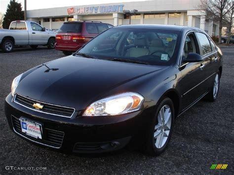 2008 Black Chevrolet Impala Ltz #45770045