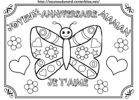 calendrier sur le bureau joyeux anniversaire maman en couleur pour gommettes