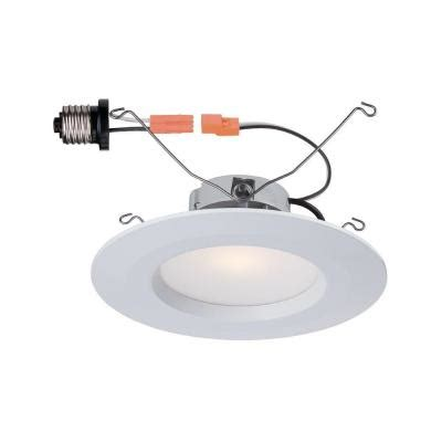 commercial electric 5 inch recessed lighting lot 4 commercial electric t65 5 quot 6 quot white recessed led